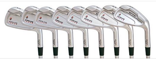 The 5-iron to Sand Wedge heads