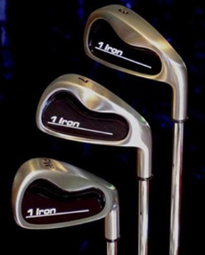 David Lakes 1Iron Golf single length irons