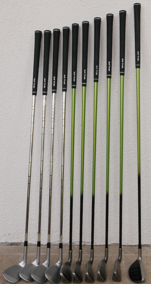 different-length-clubs