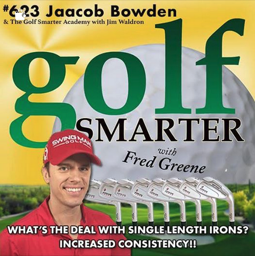 Got invited to go back for the 4th time on GOLF SMARTER Podcasts as a guest of host Fred Greene for Episode #623