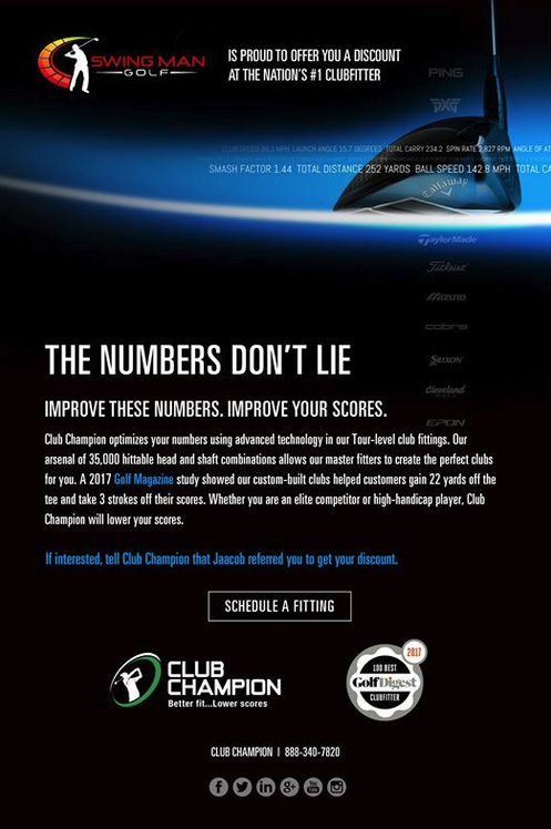 Here's a great option to optimize your other clubs