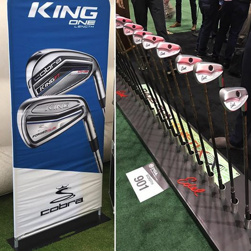 Congratulations to Cobra-PUMA Golf and Edel Golf on the launch of their single length irons at the #pgashow thus bringing more attention to this great concept