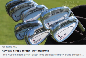 Drastically simplify swing thoughts and reduce setup adjustments throughout the set