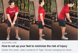 How to set up your feet to minimize the risk of injury