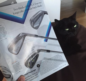Lovely photo of our 6-iron on p29 of the September 2016 issue of GolfDigest