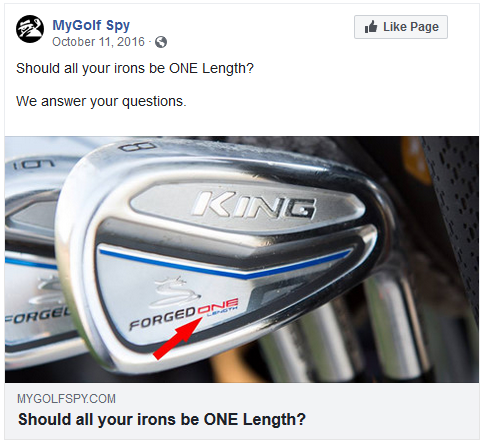 MyGolf Spy nice to see a major OEM jumping in to the mix!
