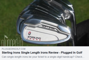 Quality players irons with good looks and feel