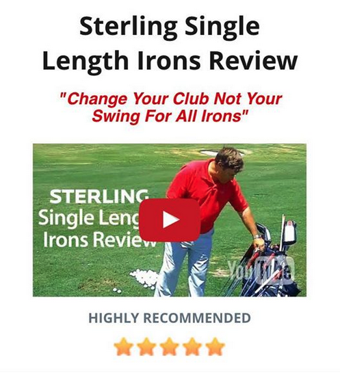 Sterling Single Length Iron Review