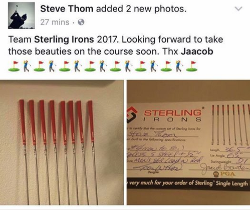 Team Sterling Irons 2017