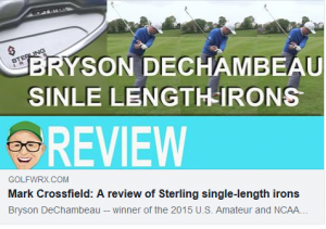 WATCH: Mark Crossfield reviews single-length Sterling Irons, designed by Tom Wishon and Jaacob Bowden