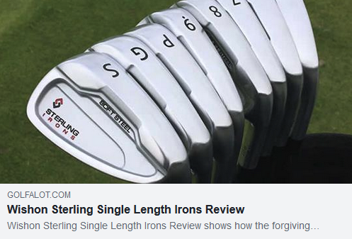Wishon Sterling Single Length Irons Review