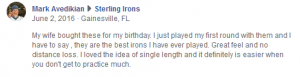 Love the testimonials that are coming in