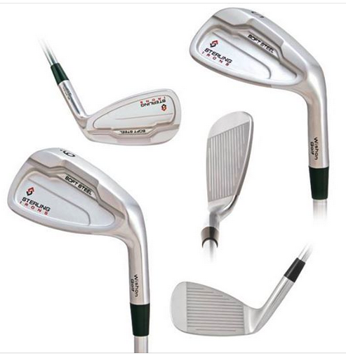 Various views of the 8-Iron through Sand Wedge