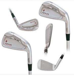 Various views of the high COR 5-Iron to 7-Iron
