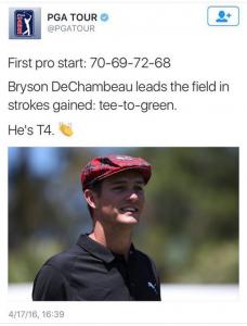 Well done Bryson DeChambeau
